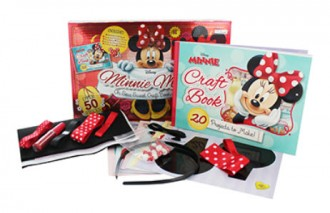 Minnie Makes Craft Book and Kit