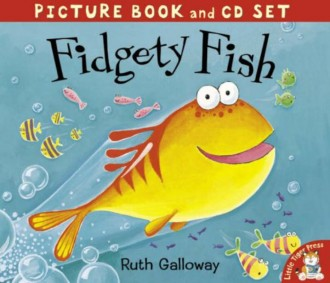 Fidgety Fish (Book and CD)